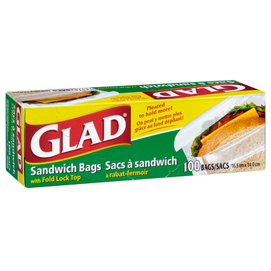 Glad Fold-Top Sandwich Bags