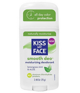 Kiss My Face Smooth Deo Aluminum Free Deodorant Lemongrass Mint & Aloe