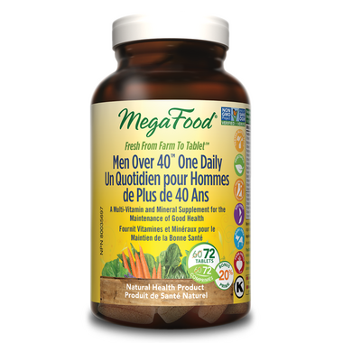 MegaFood Men Over 40 One Daily Multi-Vitamin