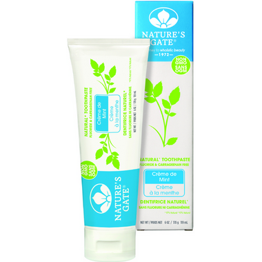 Nature\'s Gate Creme de Mint Toothpaste
