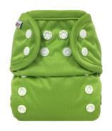Bummis All-in-One Cloth Diaper Snap Green