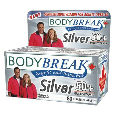 BodyBreak Silver 50+ Multivitamin