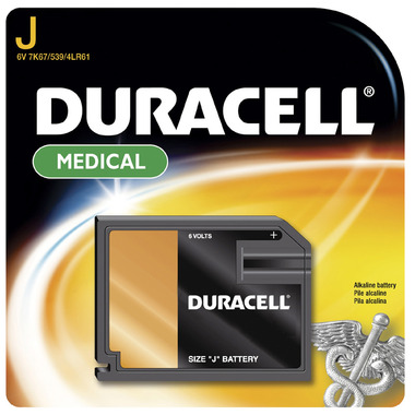 Duracell Alkaline Size J Medical Battery
