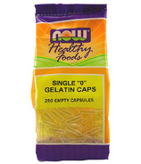 "NOW Foods Single ""0"" Gelatin Caps"