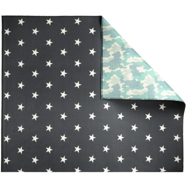 Play with Pieces Star & Camo Play Mat