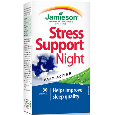 Buy Jamieson Stress Support Night 30 Capsules Online In