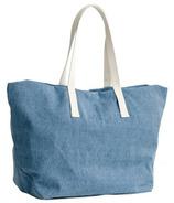 Baggu Weekend Bag in Washed Denim