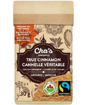 Cha's Organics True Cinnamon Ground