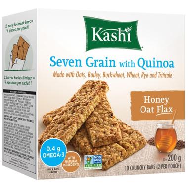 Kashi Seven Grain with Quinoa Honey Oat Flax Bars