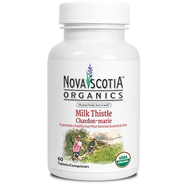 Nova Scotia Organics Milk Thistle Tablets