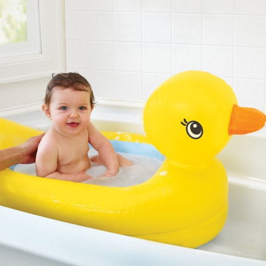 Buy Munchkin White Hot Inflatable Safety Duck Tub At Free Shipping