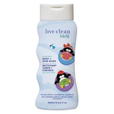 Live Clean Kids Body + Hair Wash