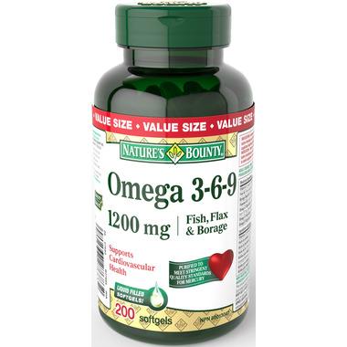 Nature\'s Bounty Omega 3-6-9 Fish, Flax, Borage