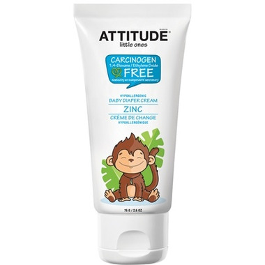 ATTITUDE Little Ones Diaper Rash Cream Zinc