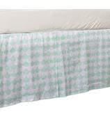Lolli Living Bed Skirt Kayden Sea Glass Green Scallop
