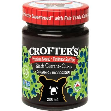 Crofter\'s Organic Black Currant Premium Spread