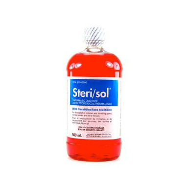 Steri/Sol Therapeutic Oral Rinse