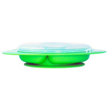 Thinkbaby Thinksaucer Suction Plate Light Green