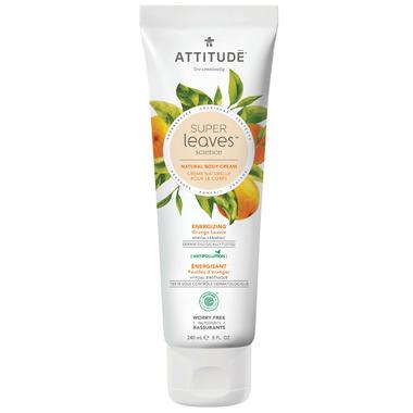 ATTITUDE Super Leaves Natural Body Cream Energizing