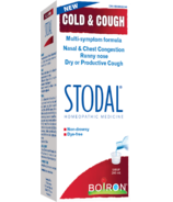 Boiron Stodal Cold & Cough Syrup