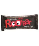 Roobar Liquorice Chilli Organic Energy Bar