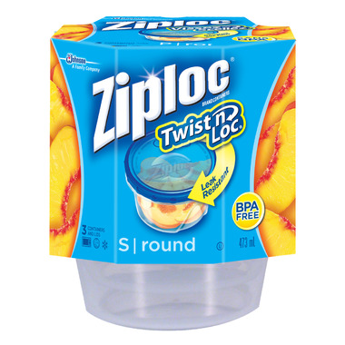 Buy Ziploc Twist N Loc Small Round Containers At Well Ca