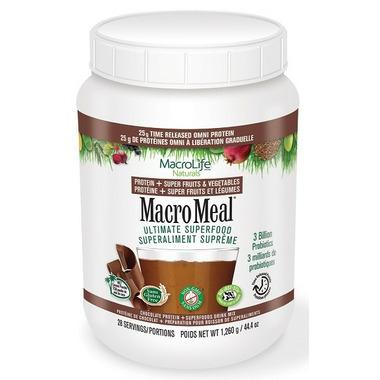 MacroLife Naturals MacroMeal Omni Protein Chocolate