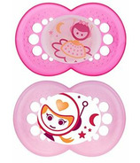 Mam Silicone Night Pacifier Glows Pink