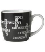 Now Designs Crossword Porcelain Mug
