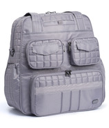 Lug Puddle Jumper Overnight / Gym Bag Pearl Grey