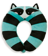 Manhattan Toy Travel + Comfort Neck Raccoon Pillow