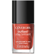 CoverGirl Outlast Stay Brilliant Nail Gloss Totally Tulip (35)