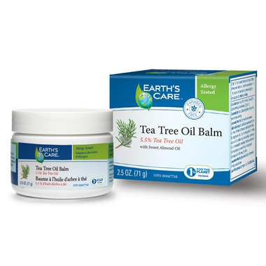 Earth\'s Care Tea Tree Oil Balm with Sweet Almond Oil