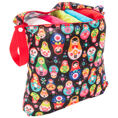 Bummis Fabulous Wet Bag Medium Russian Dolls