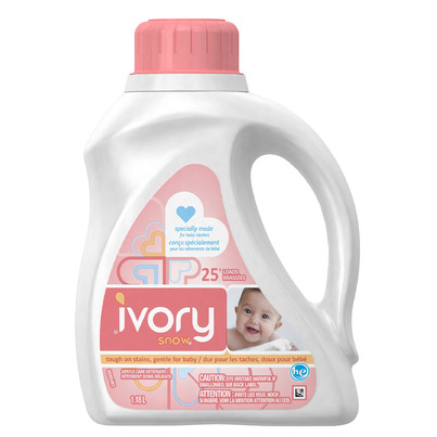 Ivory snow laundry detergent coupons