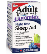 Adult Essentials Night Time Sleep Aid Gummies