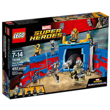 LEGO Super Heros Thor vs. The Hulk Arena