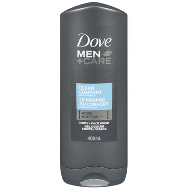 Dove Men+Care Body + Face Wash Clean Comfort