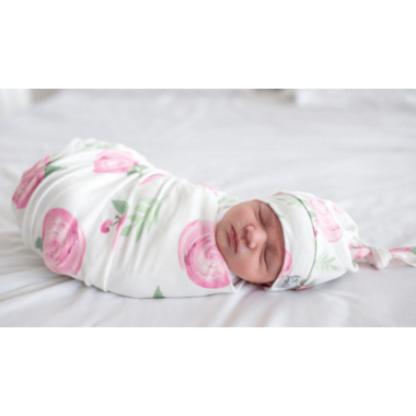 Copper Pearl Grace Swaddle Blanket