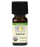 Aura Cacia Grapefruit Organic Essential Oil