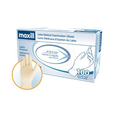 Maxill Smooth Lightly Powdered Gloves