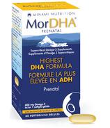 Minami Nutrition MorDHA Prenatal Highest DHA Formula