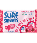 Surf Sweet Organic Fruity Hearts Treat Pack