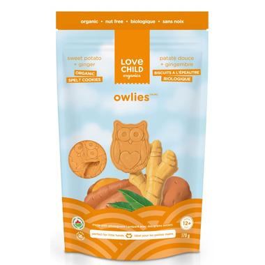 Love Child Organics Owlies Ginger and Sweet Potato