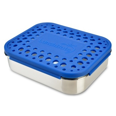 LunchBots Uno With Dots Blue