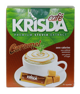 Krisda Cafe Caramel Stevia Packets