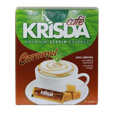 Krisda Cafe Caramel Stevia Packets