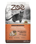 Zoe Weight Control Cat Food Turkey, Barley and Quinoa