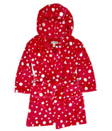 Hatley Fuzzy Robe Snowball Polka Dot