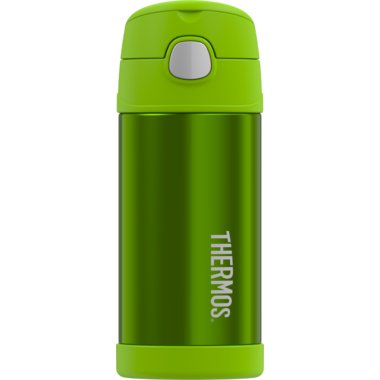 Thermos Stainless Steel Vacuum Insulated Straw Bottle Lime Green